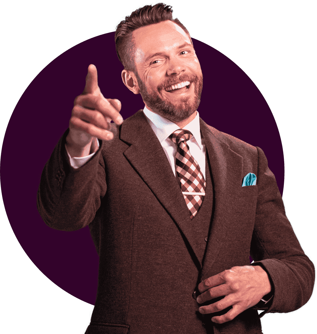 Joel McHale brand ambassador