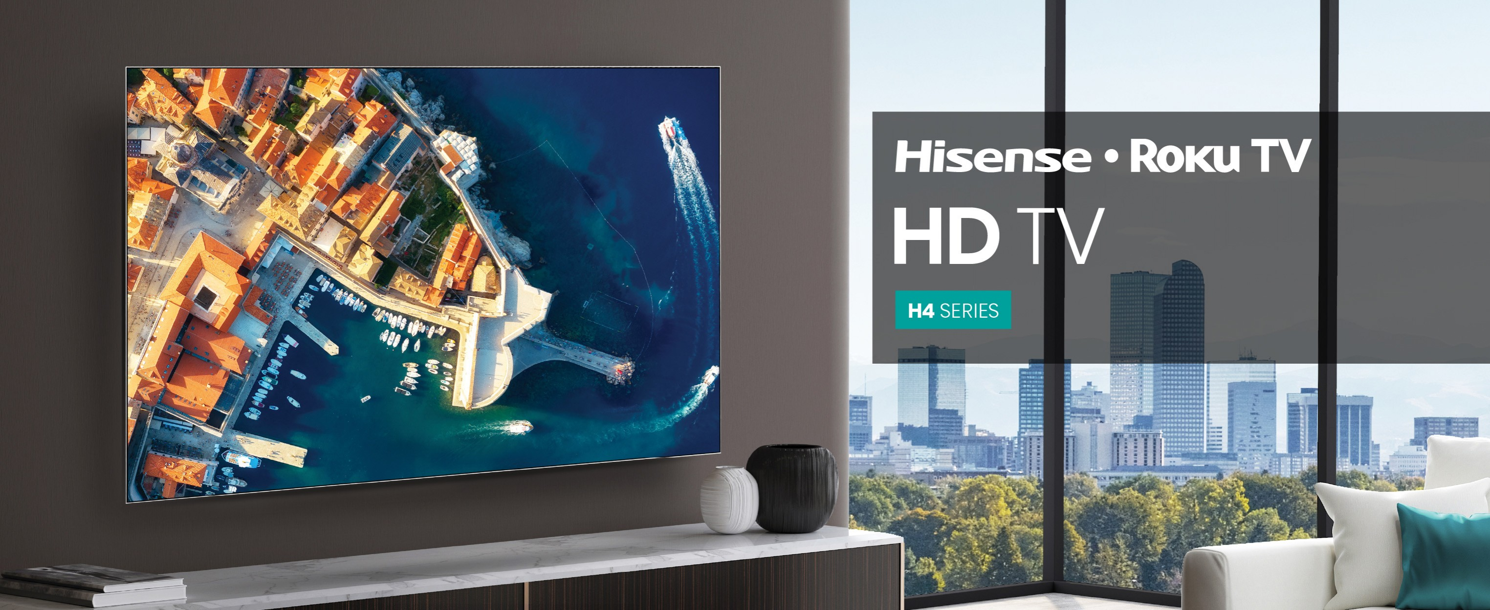Hisense Roku TV HDTV