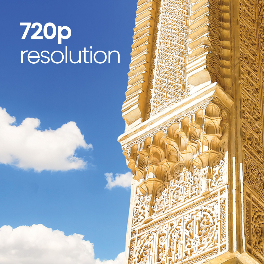 720p Resolution