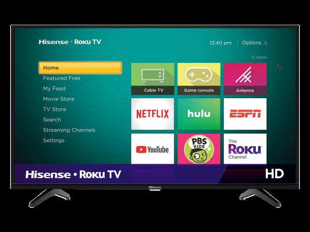 HD Hisense Roku TV (2019)