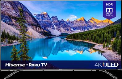 4K ULED Hisense Roku Smart TV (2020)