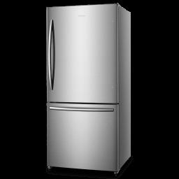 17.1-cu ft Bottom-Freezer Refrigerator