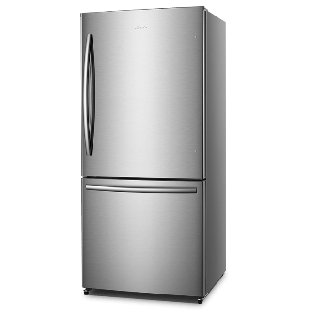 17.1-cu ft Bottom-Freezer Refrigerator