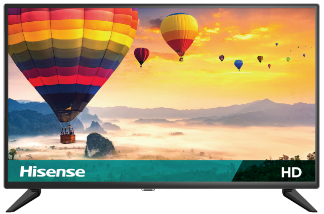 "HD Hisense Feature TV (31.5"" diag)"