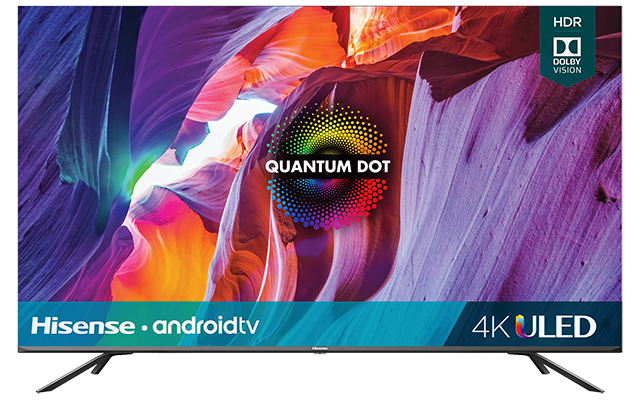 "Quantum 4K ULED Hisense Android Smart TV (54.6"" diag)"