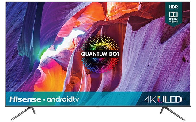 "Quantum 4K ULED Hisense Android Smart TV (74.5"" diag)"