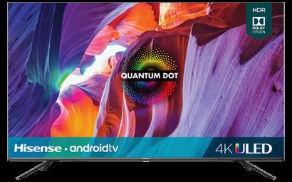 "50"" Quantum 4K ULED Hisense Android Smart TV (2020)"