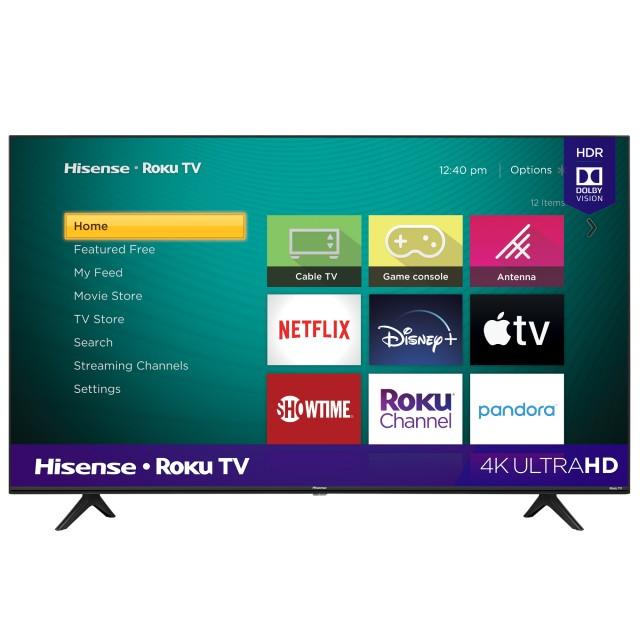 4K UHD Hisense Roku TV with HDR (2020)