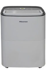 60-Pint Capacity, 1500 sq. ft. coverage, 3-Speed Dehumidifier