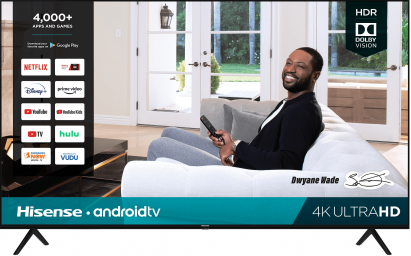 4K UHD Hisense Android Smart TV (2020)