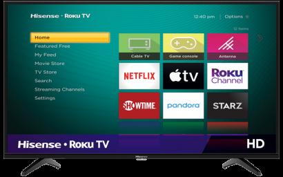 HD Hisense Roku TV (2020)