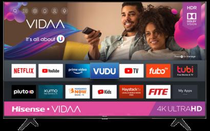 """65"""" 4K UHD Hisense Vidaa Smart TV (2020)"""