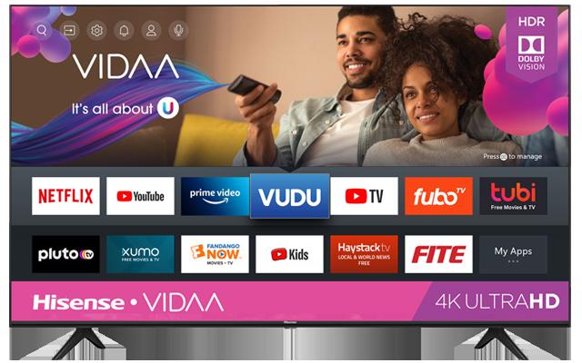 4K UHD Hisense Vidaa Smart TV (2020)