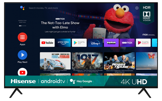 4K UHD Hisense Android Smart TV (2021)