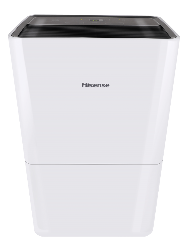 Hisense ConnectLife Smart Control 50 Pint 3-Speeds Dehumidifier