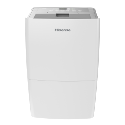 Hisense Energy Star 50* Pint 3-Speed Dehumidifier with Built-in Pump