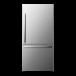 Hisense 17.1-Cu Ft Refrigerator - Fingerprint-Resistant Stainless Steel