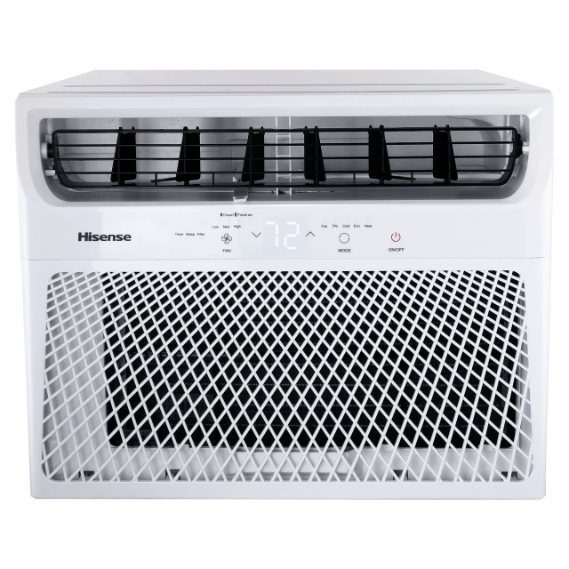 Hisense 550-sq ft 3-Speed Window Air Conditioners with Remote Control