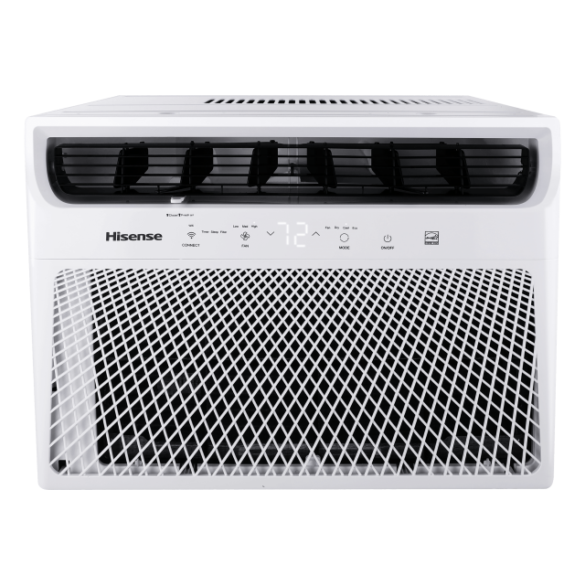 Hisense 700-sq ft Smart Window Air Conditioner with Remote