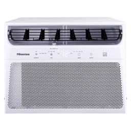 Hisense 350-sq ft  Smart Control Window Air Conditioner with Remote