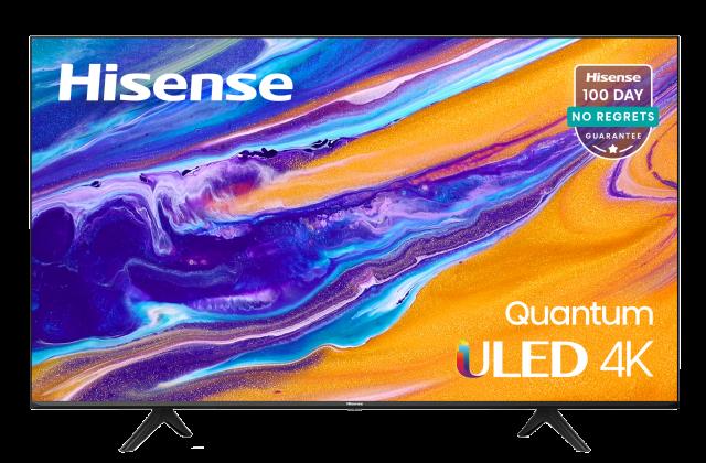 "55"" 4K ULED™ Hisense Android Smart TV (2021)"
