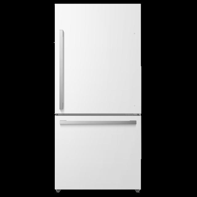 Hisense N 17.2-cu ft Counter-Depth Bottom-Freezer Refrigerator