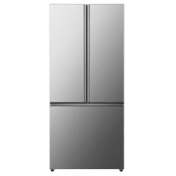 Hisense 20.6-cu ft French Door Refrigerator with Ice Maker (Stainless Steel) ENERGY STAR