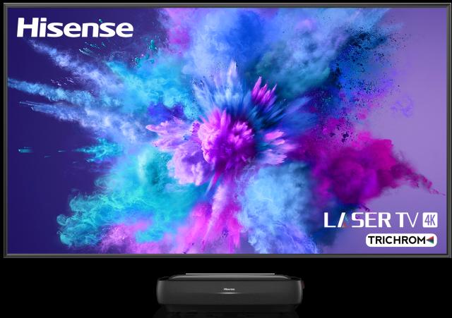 "100"" TriChroma Laser TV - Daylight Screen"