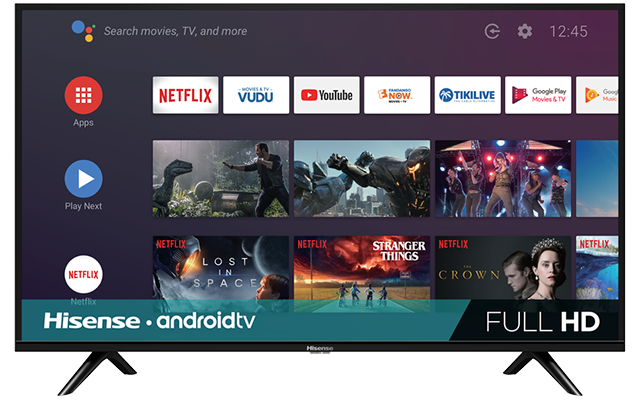 "Full HD Android Smart TV (39.5"" diag)"