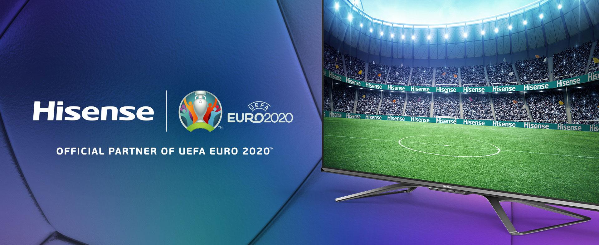 Hisense Official Partner of UEFA EURO 2020